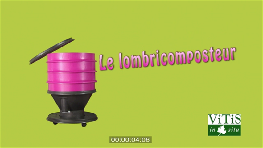 Le lombricomposteur