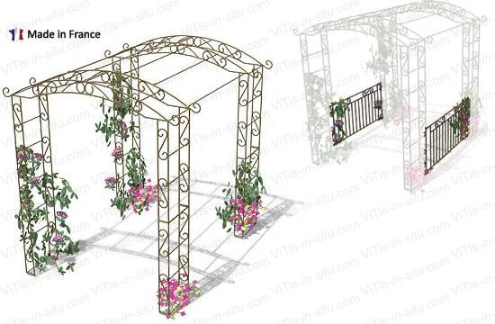 Tunnel - kiosque pour vos rosiers